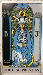 女司祭(正位置)