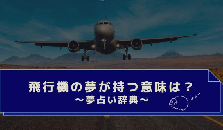 墜落 夢 占い 飛行機